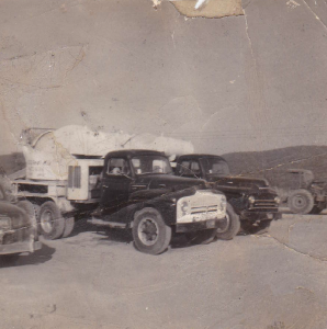 Old Ross-Co Redi-Mix Concrete Truck